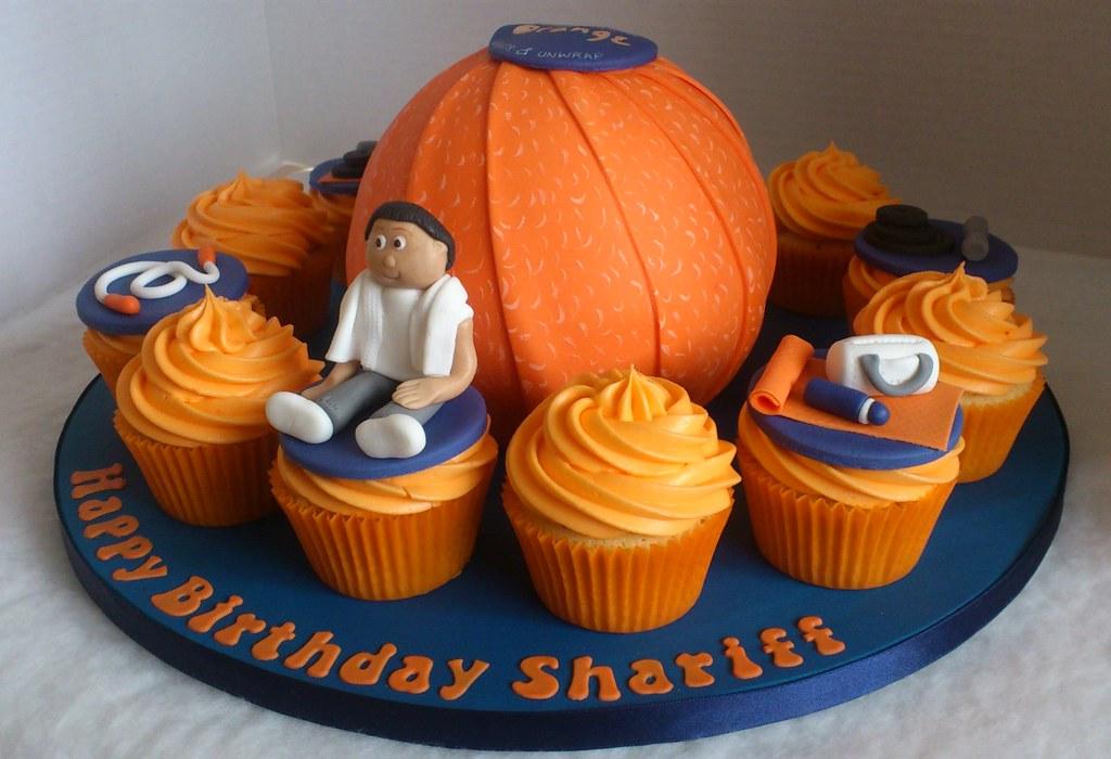 Chocolate Orange Birthday Cake Liz Flickr
