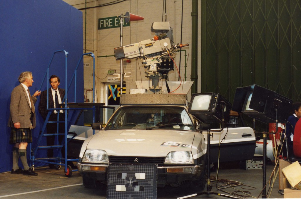 Bbctv Camera Car Early Nineties Bbc Used Citroens Due