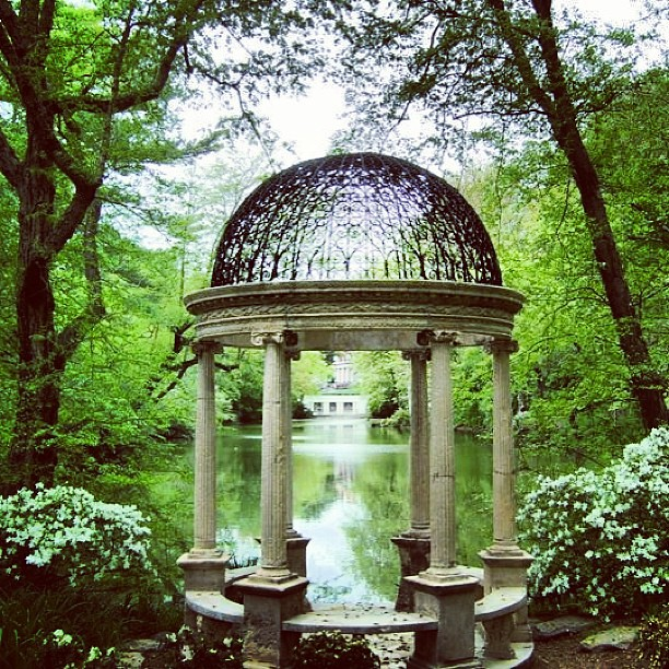 Old Westbury Gardens: Temple Of Love At Old Westbury Gardens NY #templeoflove #g