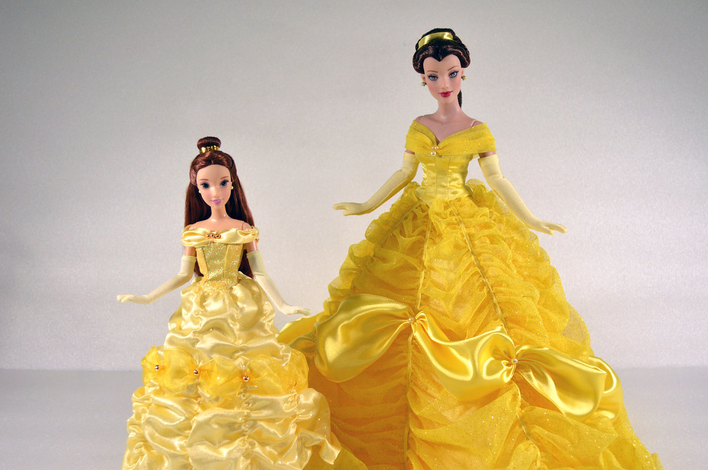 2011 disney store belle classic film collection and beauty
