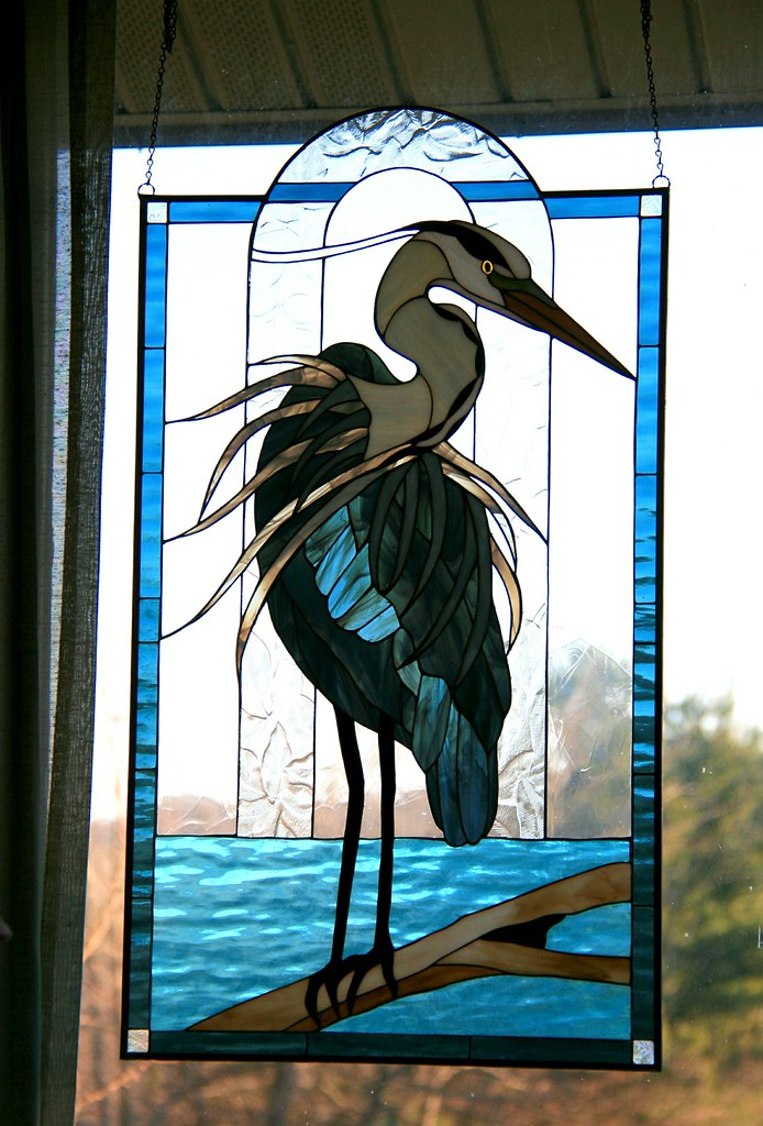 S Stained Glass Panels