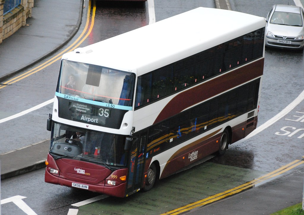 999 this bus was new to lothian buses as 999 in 2006