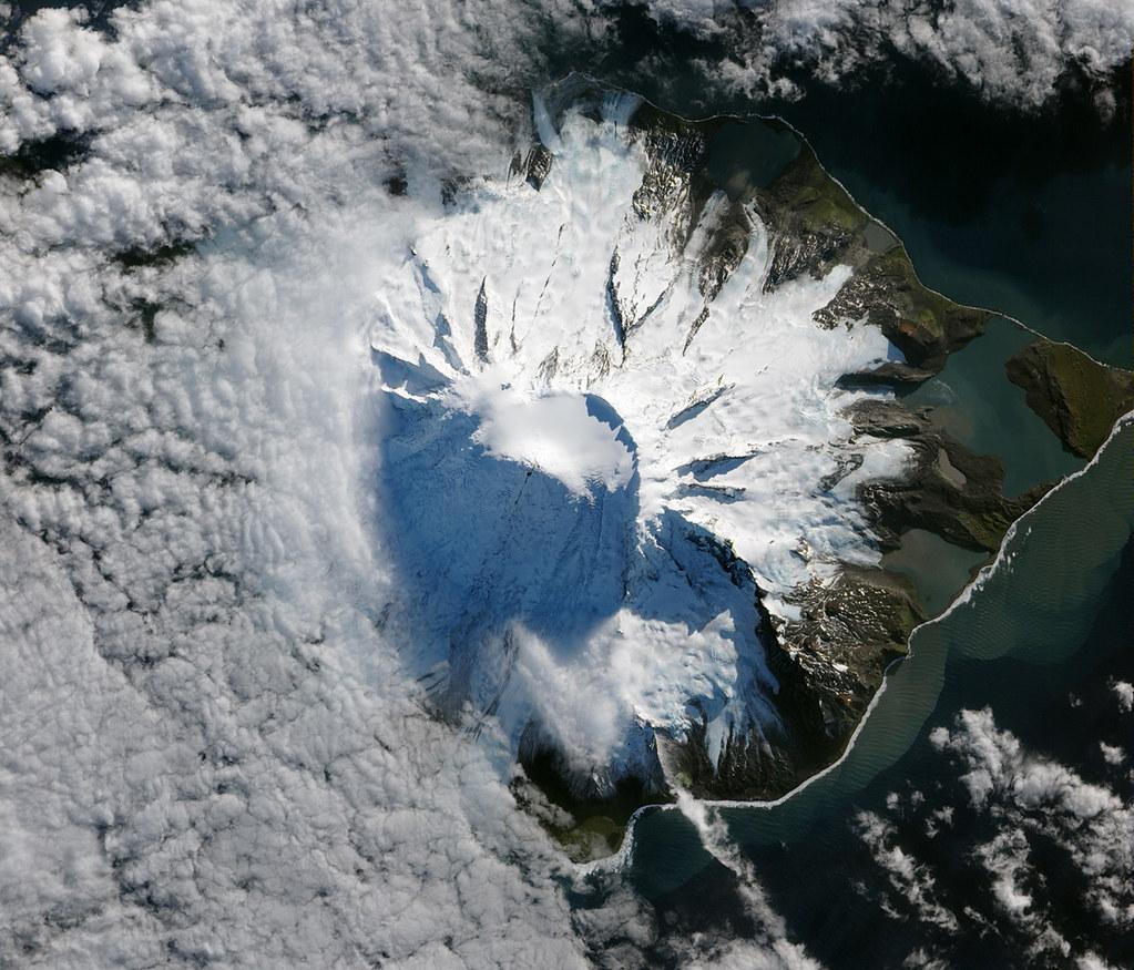Lava Flow On Mawson Peak Heard Island In October 2012