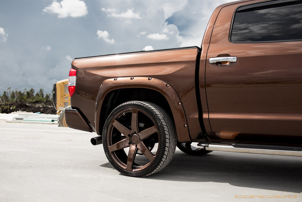 Toyota Tundra on CW-6 Custom Color Matched | Toyota Tundra ...