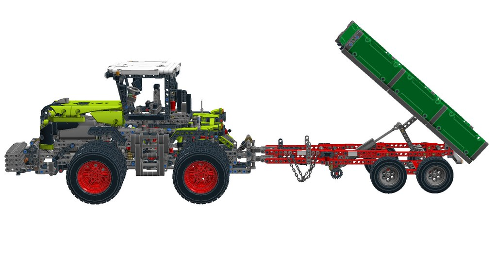 ... 42054 Claas Xerion 5000 with Trailer from 8063 | by RS 1990