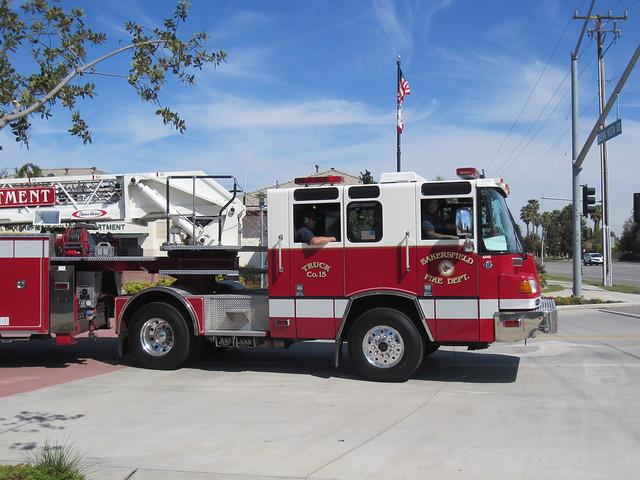 Bakersfield Fire Department Truck 15 Flickr Photo Sharing