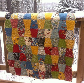 American Jane Tumbler Quilt | by CoraQuilts~Carla