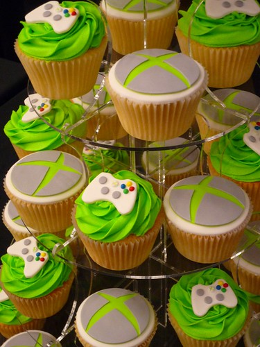 Xbox Cupcakes Jane H Flickr