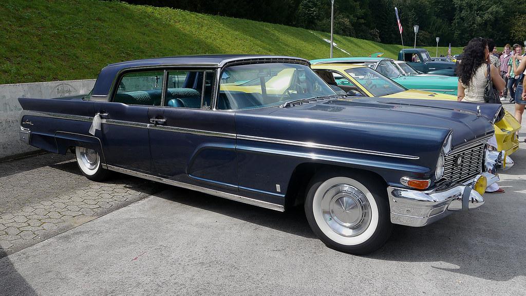 Four Door Sedan >> 1960 Lincoln Premiere Four-door_Sedan   Opron   Flickr