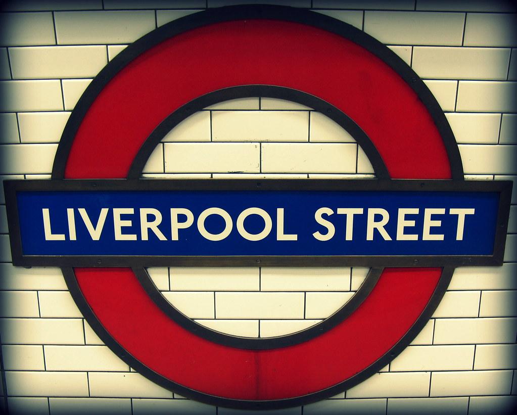 Liverpool Street Roundel London Underground A London Unde Flickr
