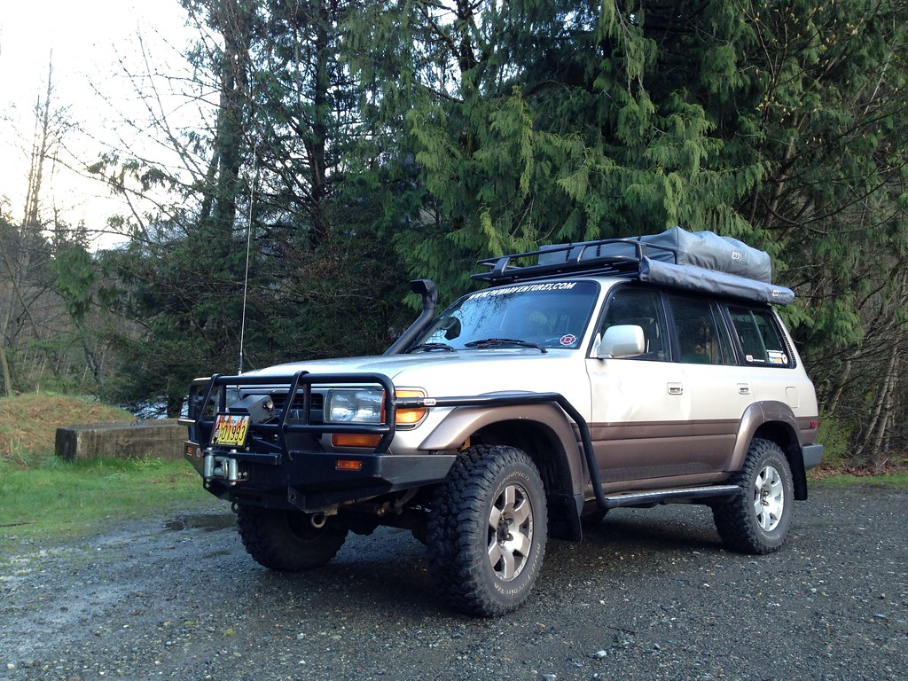 Fj80 Toyota Land Cruiser With Arb Roof Top Tent Steve G Bisig By