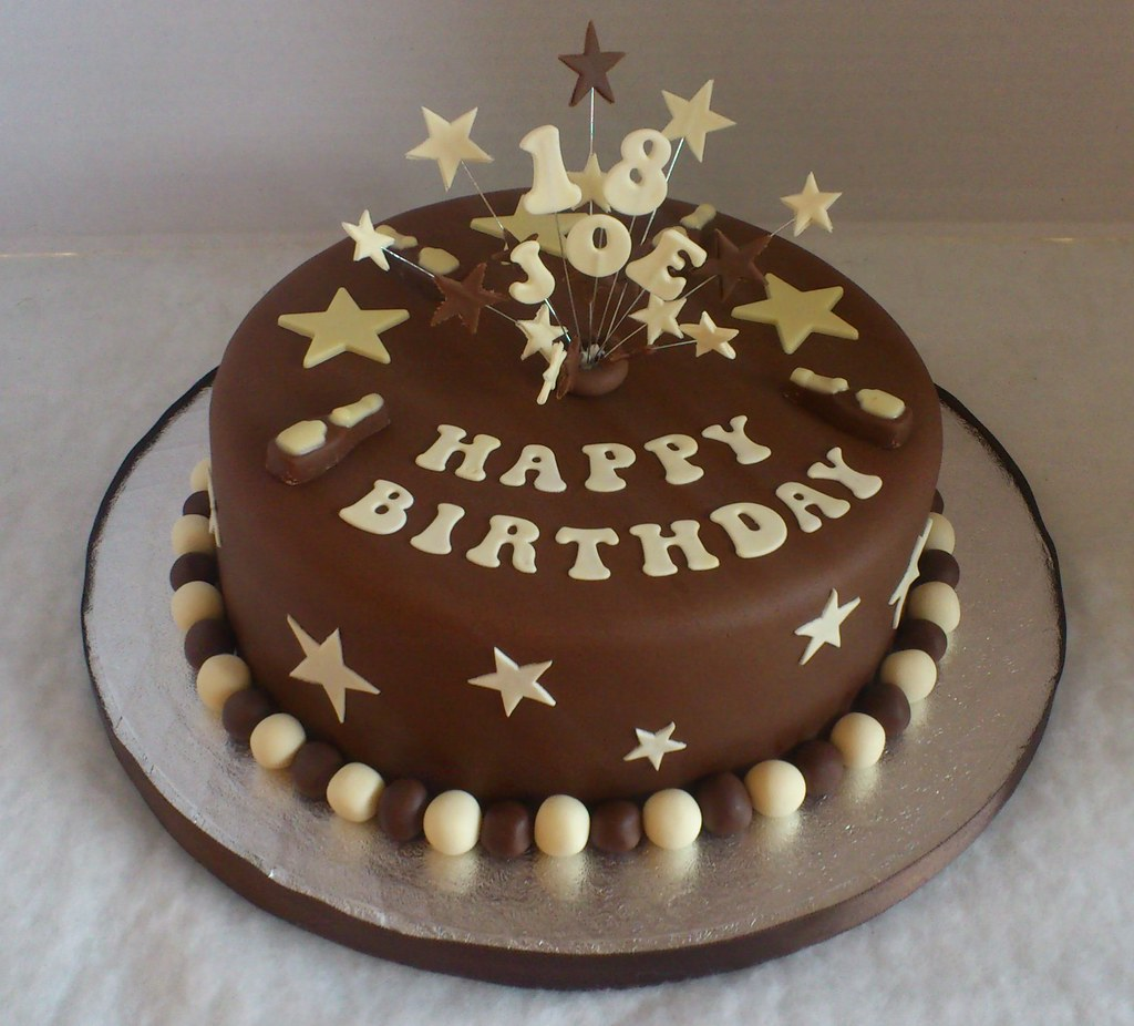 Cake Decorating Ideas For 18 Year Old Boy : 18th Birthday Cake Liz Flickr