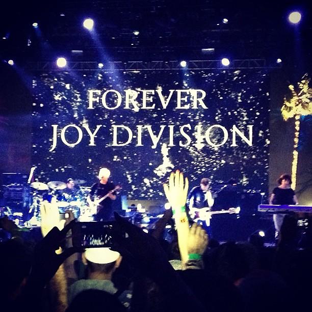 Love Will Tear Us Appart New Order Coachella 2013