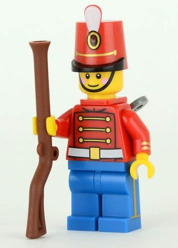 Toy Soldier from DK Minifigures book | by Brickset