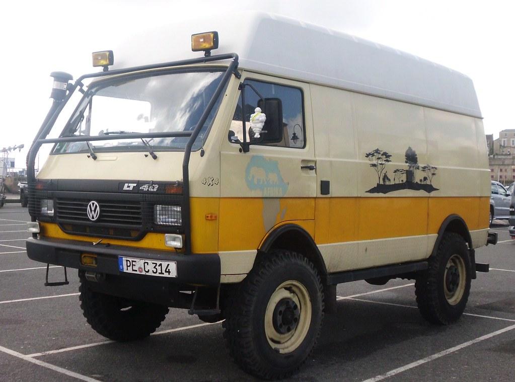 4x4 Vw Van Penzance April 2013 Unusal 4wd Lt Van