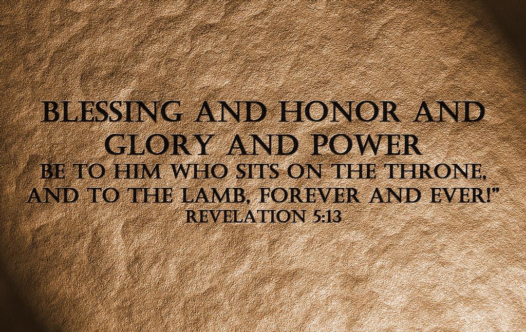 Revelations 13 1 5 Revelation 5 13