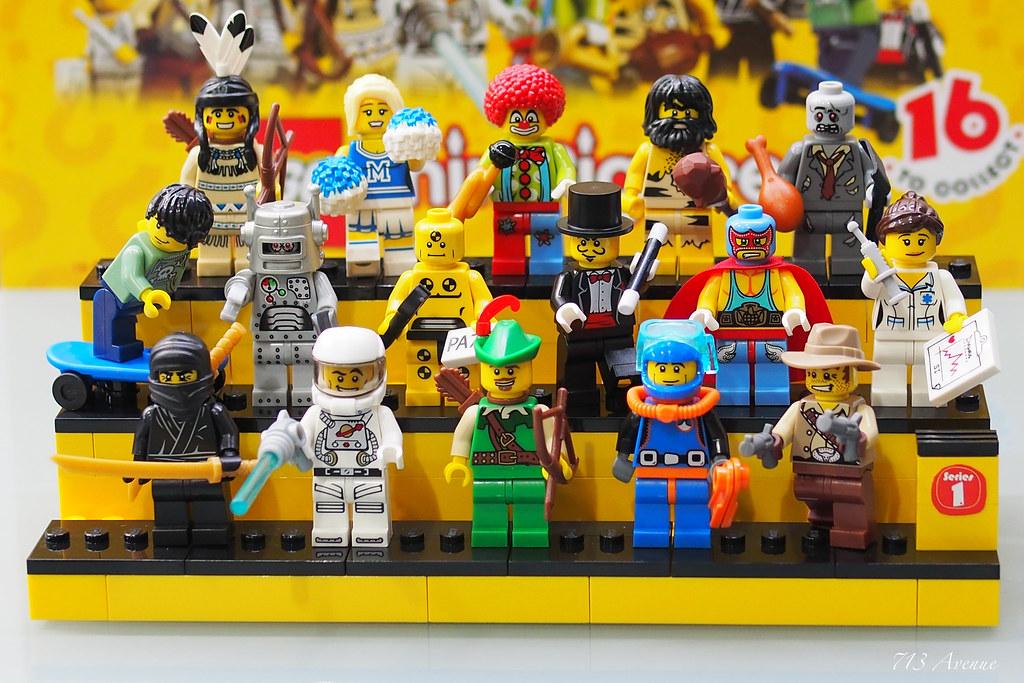 8683 - LEGO Minifigures Series 1 | Minifigures Series 1 ...