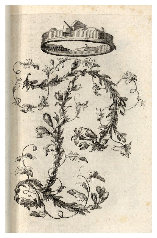 007-Letra P-Alphabet orné 1760 -BNF-Gallica