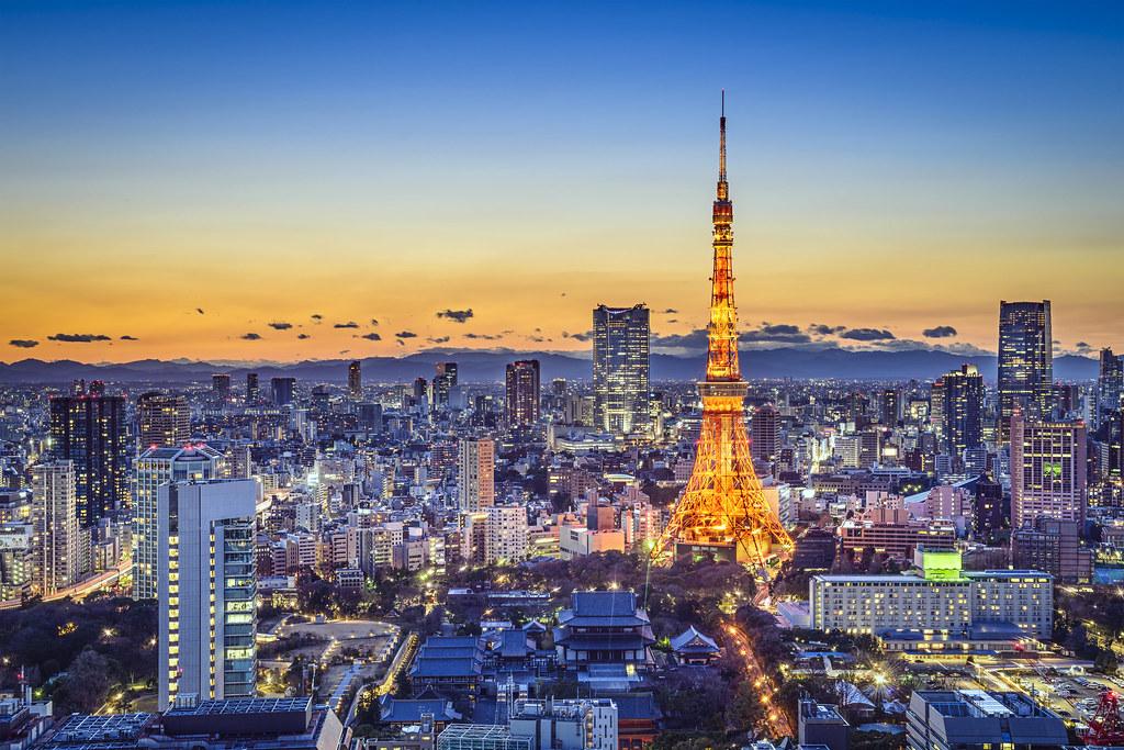 tokyo japan city skyline tokyo japan city skyline flickr