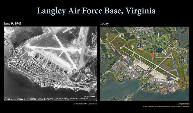 Langley then and now