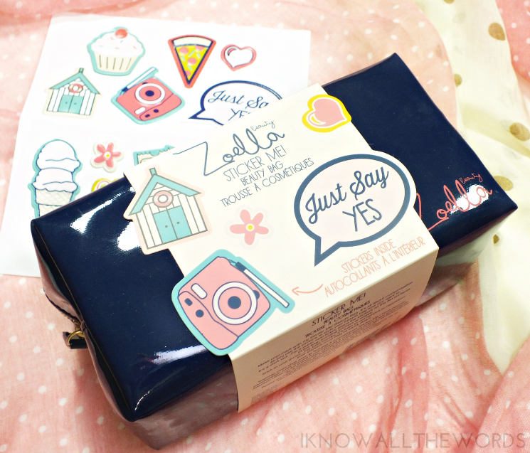zoella beauty sticker me beauty bag (2)
