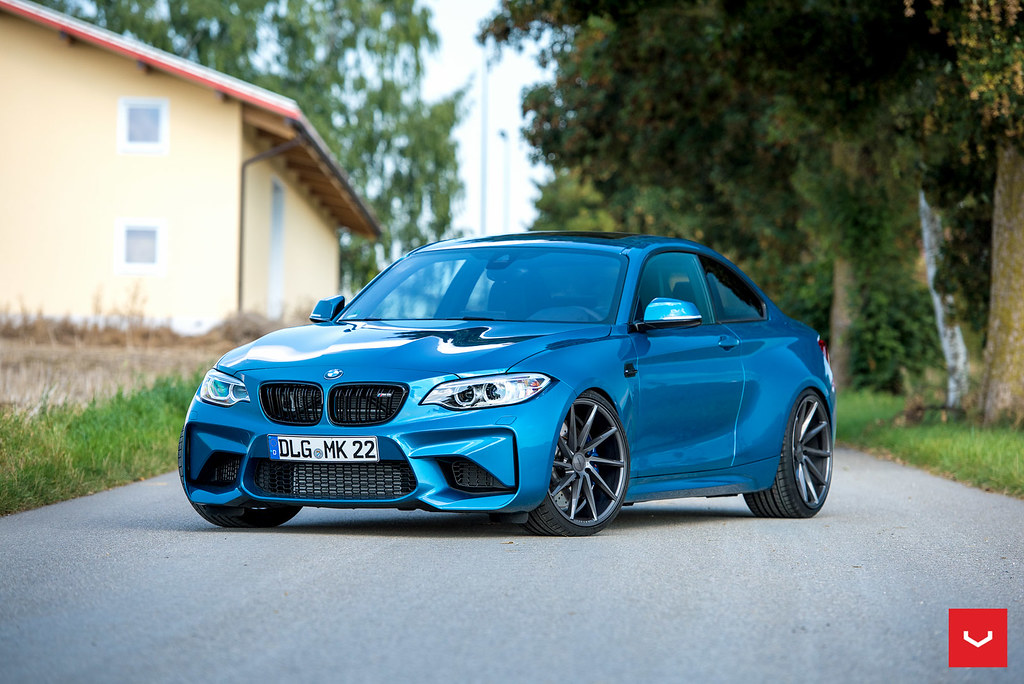 2017 bmw m2 on vossen cvt take a look. Black Bedroom Furniture Sets. Home Design Ideas