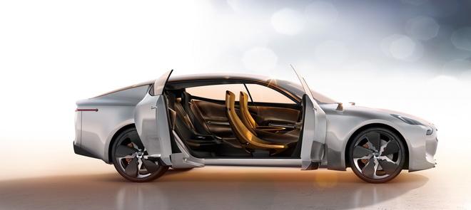 3.概念車更是汽車設計師探索與深化KIA設計能力的極限,從KIA GT概念車設計就能找到Peter Schreyer(彼得.希瑞爾)為汽車設計所投注的熱情與心力。
