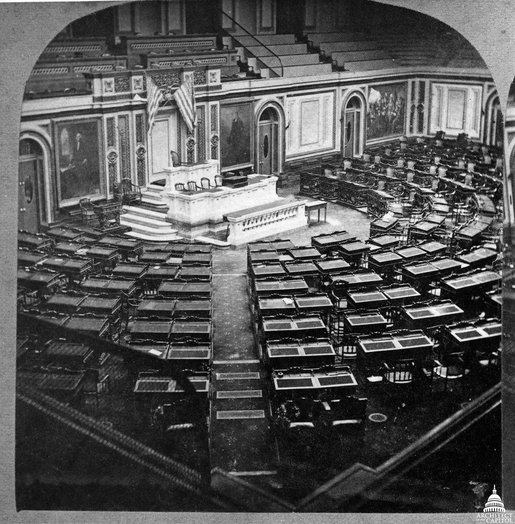 ... House of Representatives Chamber 1865 | by USCapitol