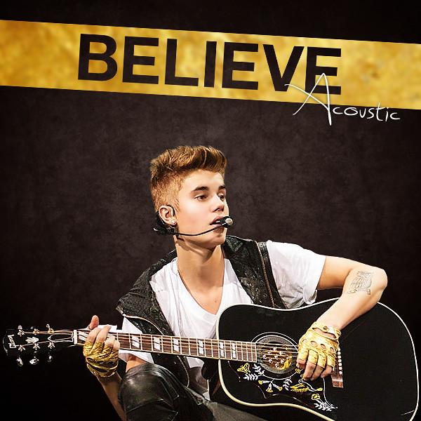 Justin bieber believe acoustic album cover smilingdesigns flickr