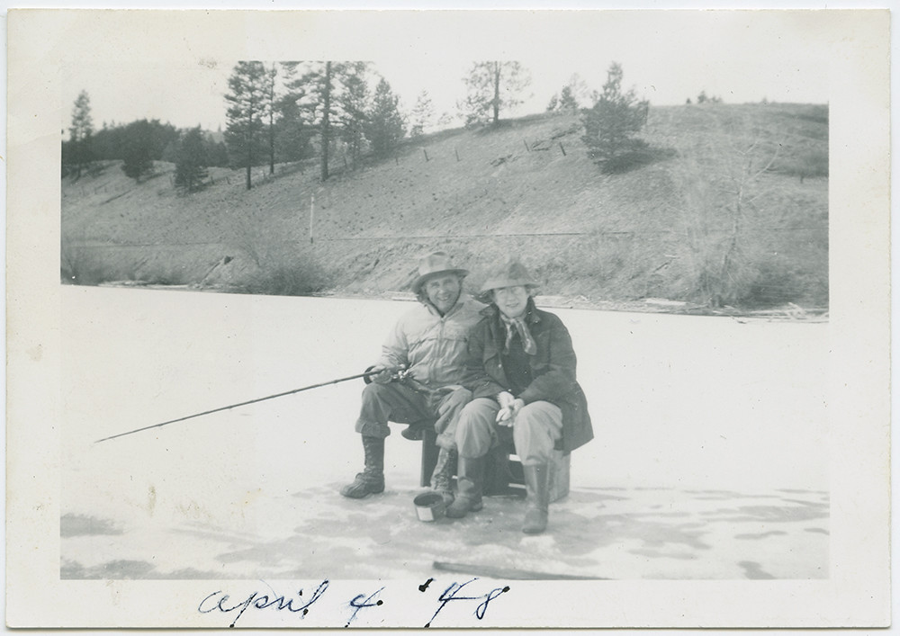 ice fishing at curlew lake