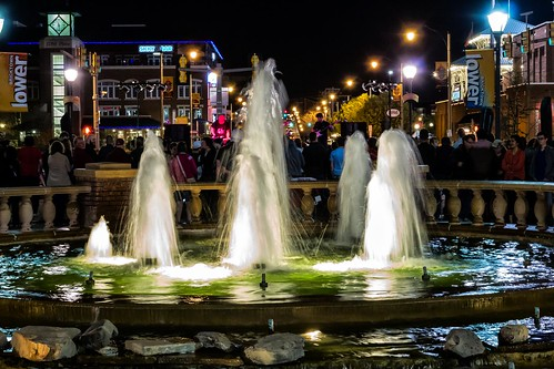 Bricktown Fountain | by Kool Cats Photography over 8 Million Views