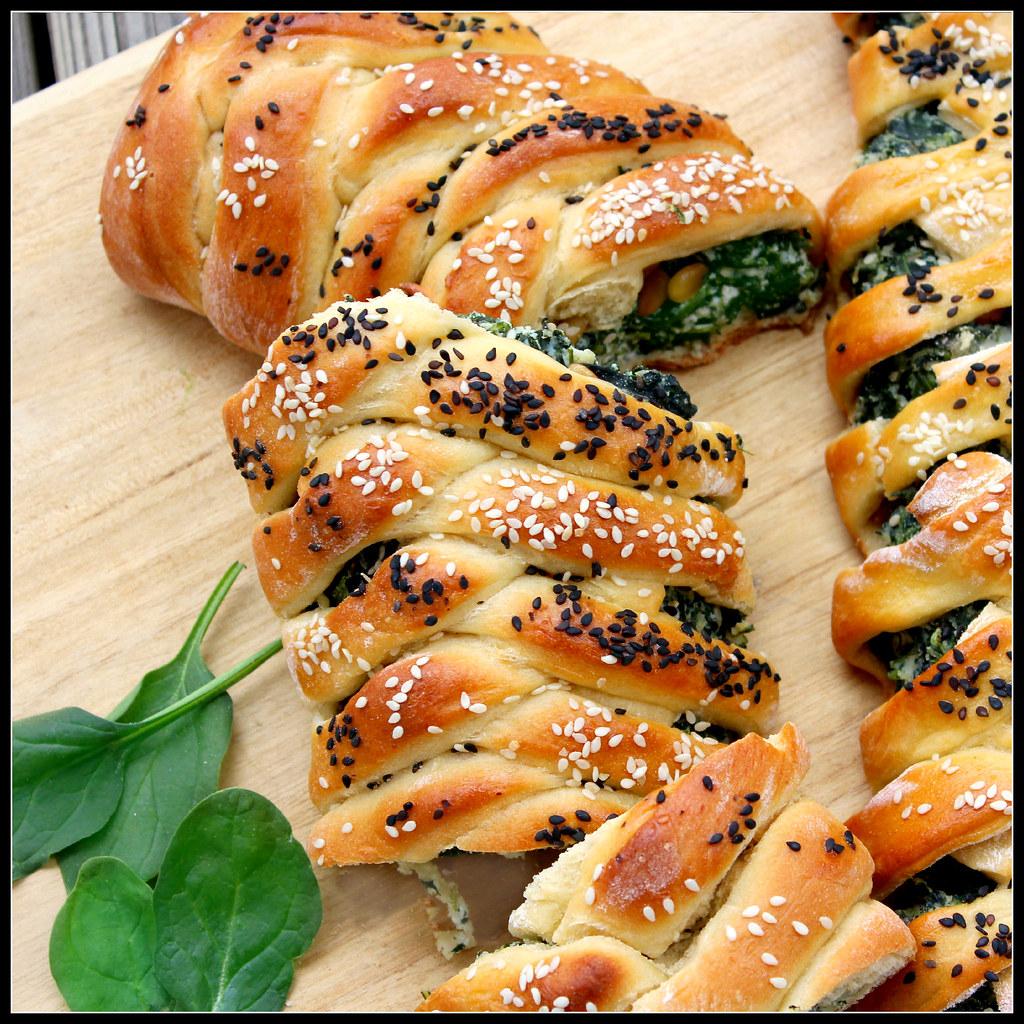 Challah with Spinach and Ricotta | What About Second ...