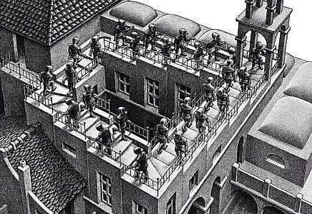 Escher el maestro de lo imposible
