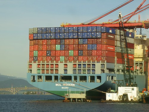 Enormous container ship | by Ruth and Dave