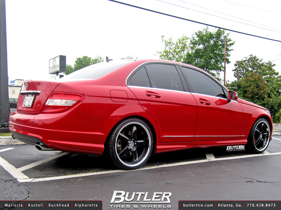 Mercedes Benz C300 With 19in Tsw Stowe Wheels Additional