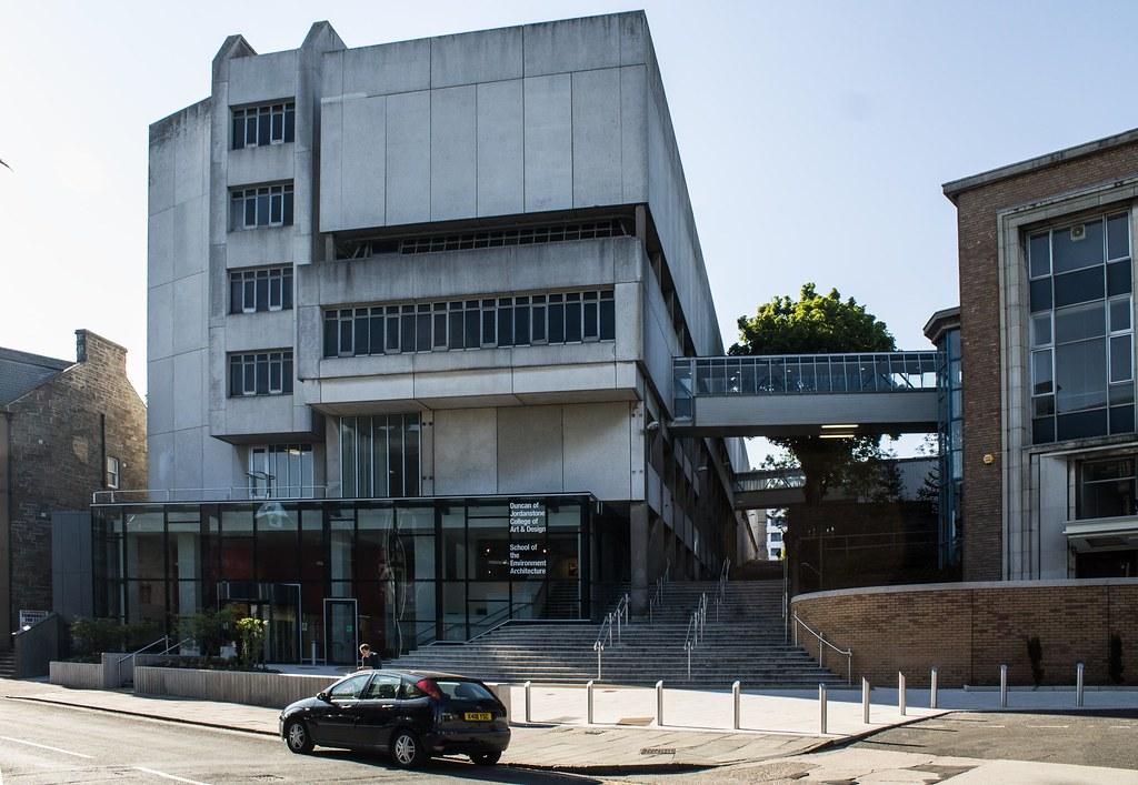 Dundee University Matthew Building