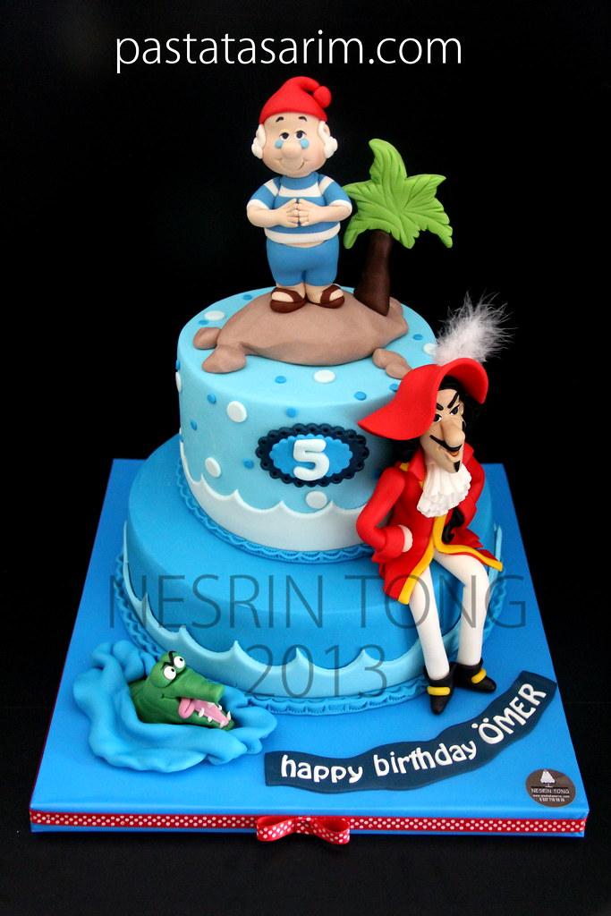 Captain Hook Cake Cake By Nesrİn Tong Flickr