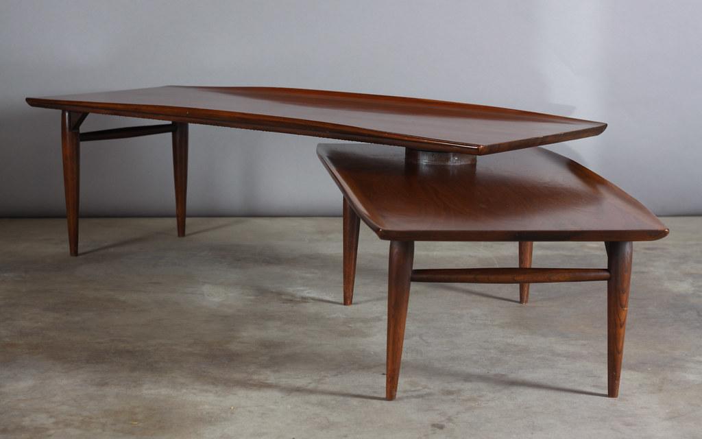 1960u0027s Mid Century / Danish Modern Walnut Coffee Table   Au2026 | Flickr