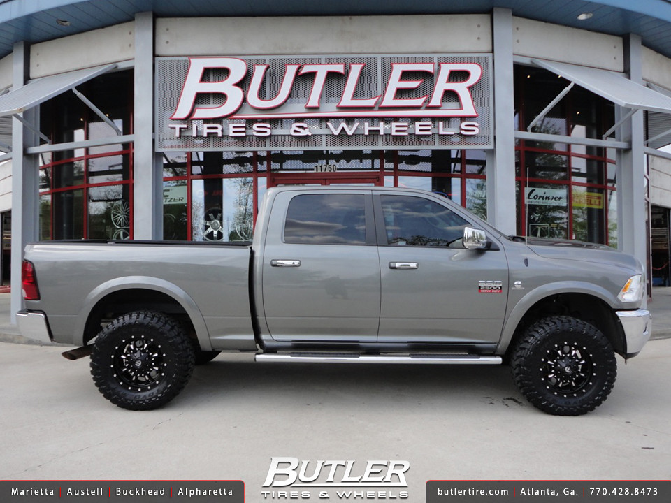 Dodge Ram 2500 Hd With 18in Fuel Krank Wheels Additional