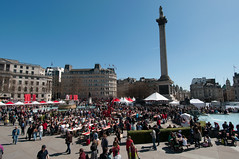 St George's day in the Square