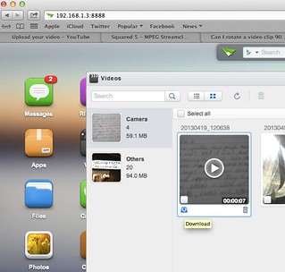 AirDroid Video Transfer | by Wesley Fryer