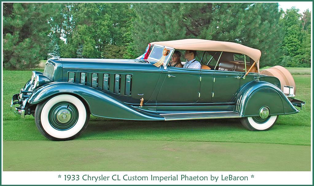 1933 Chrysler Imperial Phaeton The July 29 2012