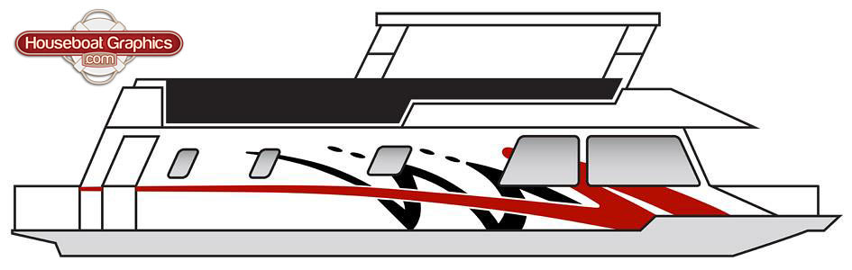 Striping Decals For Your Boat Or Houseboat Flickr - Houseboats vinyl decals