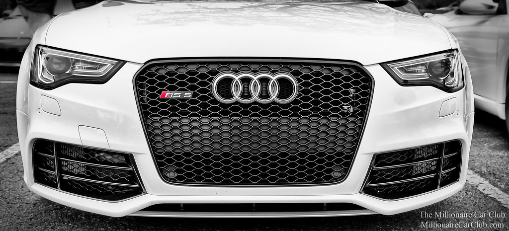 audi rs5 front facia grill and headlights audi rs5 out. Black Bedroom Furniture Sets. Home Design Ideas