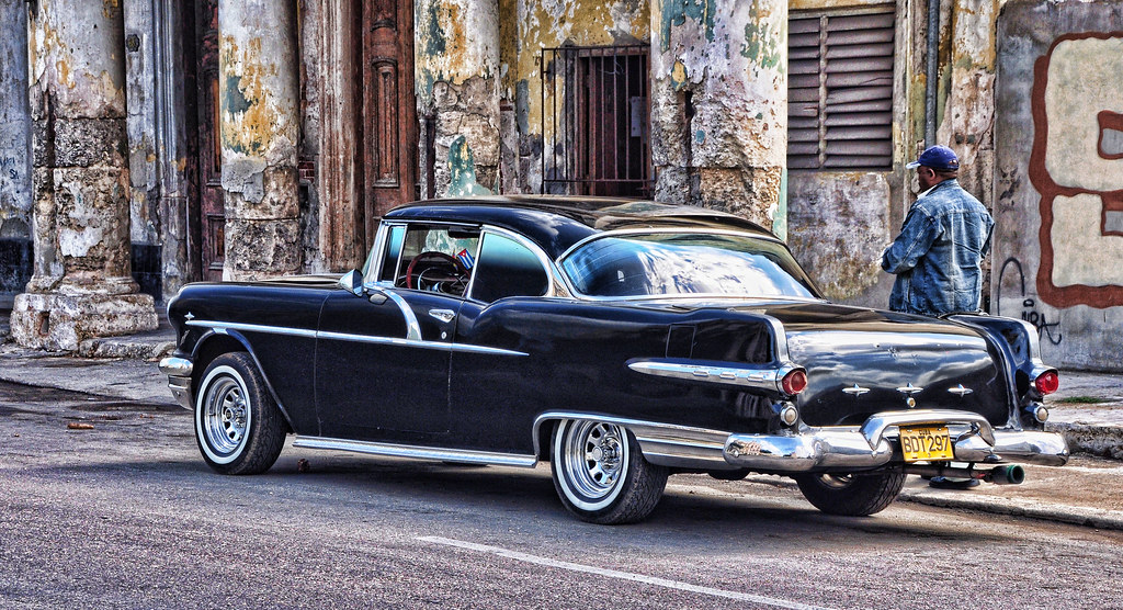 Pontiac 56 Star Chief Photo Taken In Havana Cuba I Am