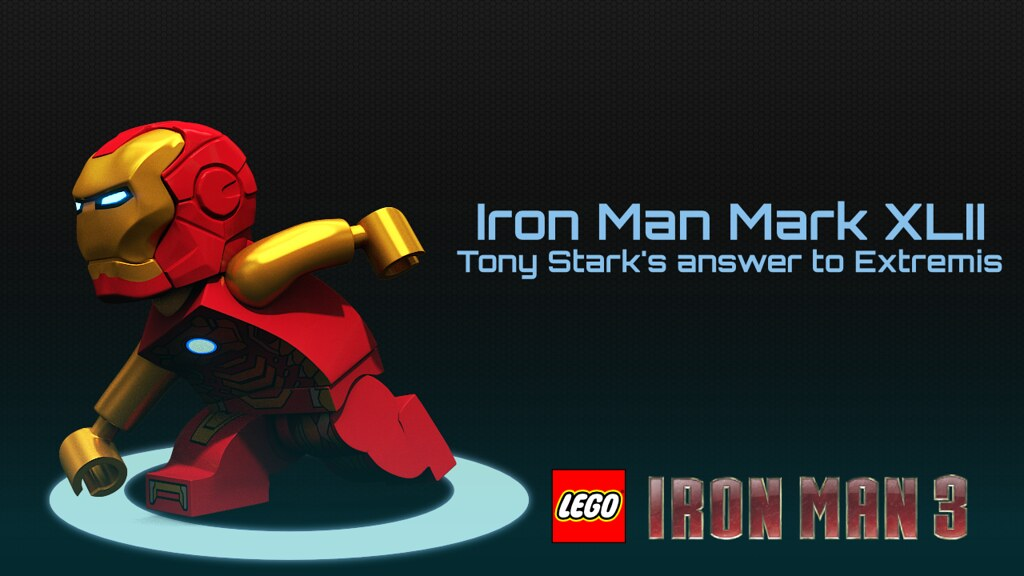 Iron Men Mark Xlii One Of A Series Of Twelve Iron Man