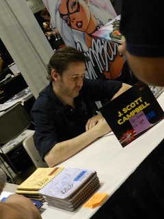 J. Scott Campbell at Artist Alley | by huntleyareapl