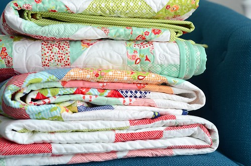 stack of quilts | by croskelley