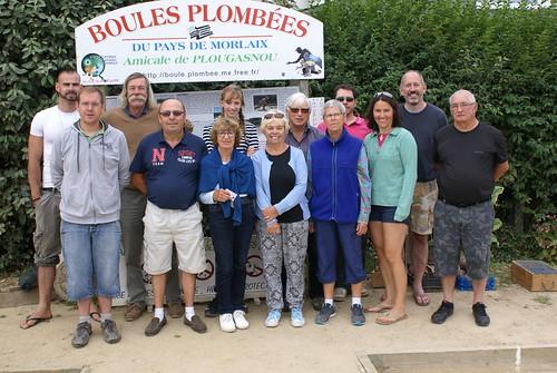 24/08/2016 - Plougasnou : 8ème séance d'initiation gratuite aux boules plombées