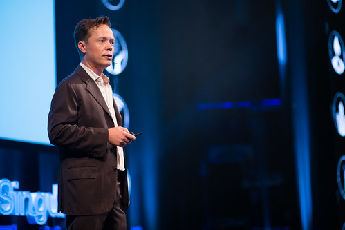 Brock Pierce at the SingularityU The Netherlands Summit 2016 | by Sebastiaan ter Burg
